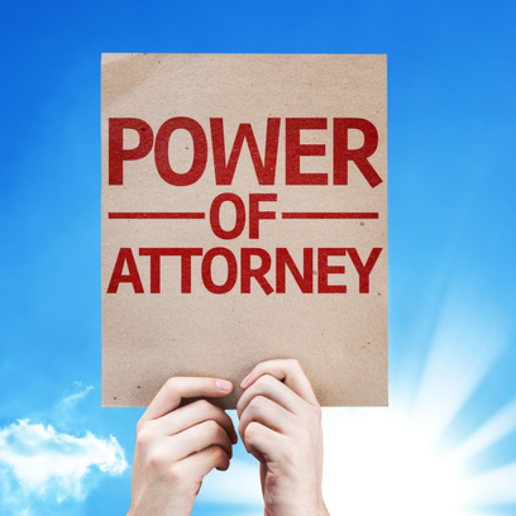 Power of attorney for property