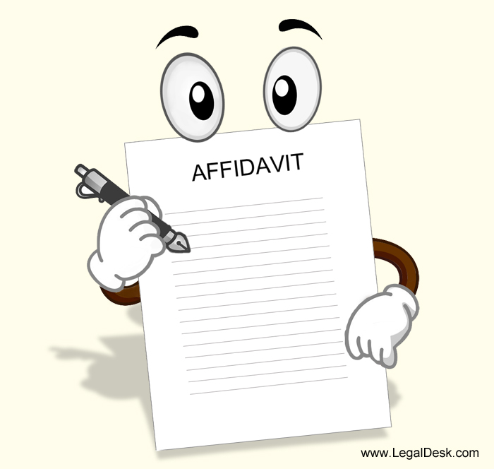 How to create an Affidavit in India?