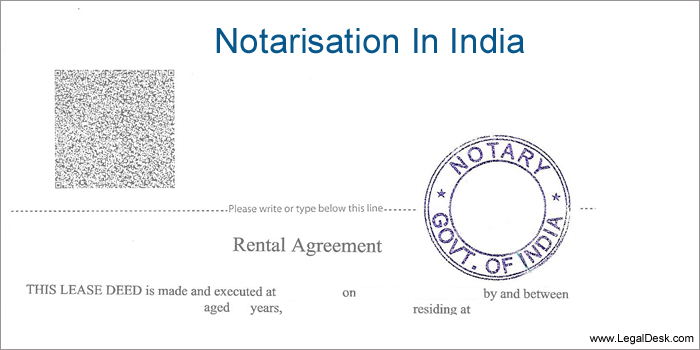 Notary in India