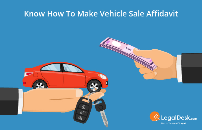 affidavit of sale of vehicle