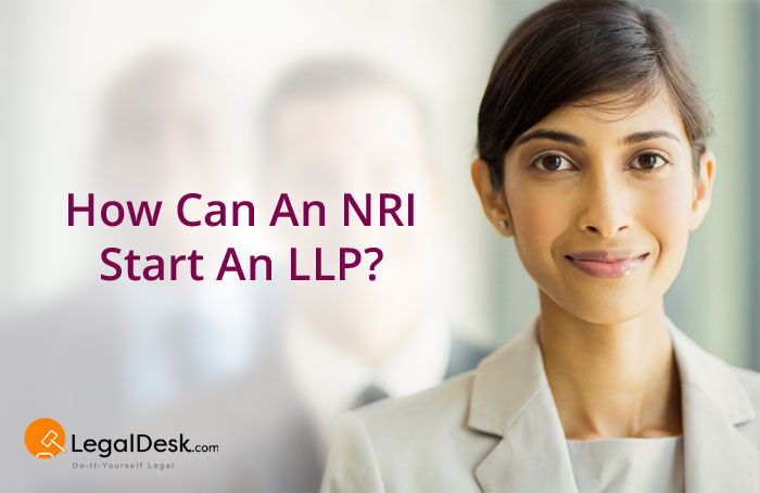 Starting LLP in India by NRI