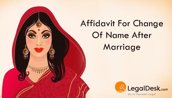 Create an affidavit for change of name after marriage name change after marriage solutioingenieria Images